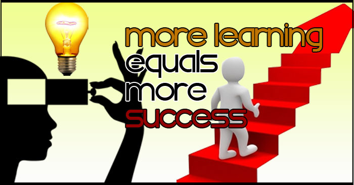 More Learning Equals More Success