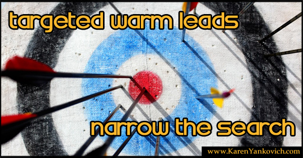 Targeted Warm Leads on LinkedIn. Let's Narrow the Search.