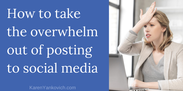 Karen Yankovich | Don't Know What To Post? Read This Post TODAY!