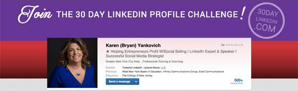 LinkedIn Header