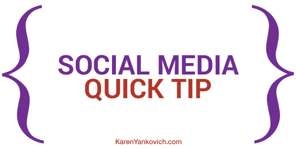 Karen Yankovich | Social Media Quick Tip: LinkedIn Writing Themes