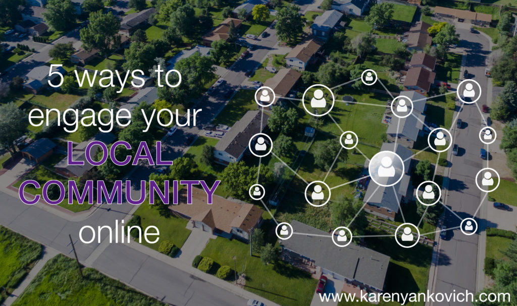 Five Ways to Engage Your Local Community Online