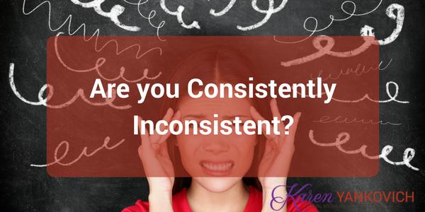 Karen Yankovich | Consistently Inconsistent! 1