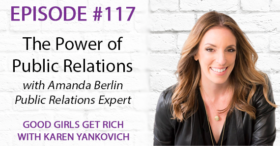 117 – The Power of PR with Amanda Berlin