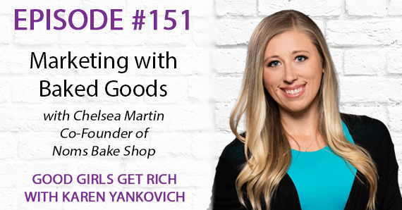 151 – Marketing with Baked Goods with Chelsea Martin